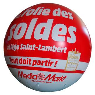 Ballon publicitaire hélium