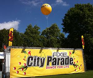 ballon 1.5 city parade