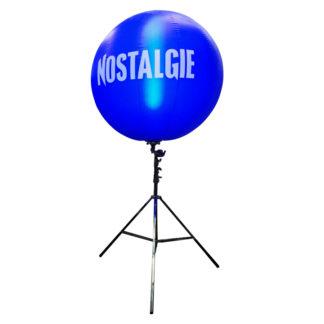 Ballon publicitaire autogonflant