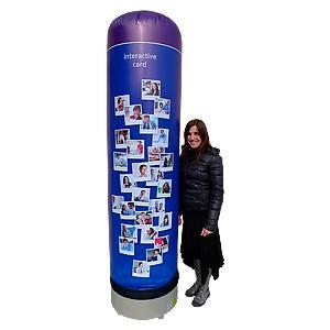 colonne publicitaire
