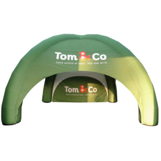 Tente gonflable Rgloo 6x6 m