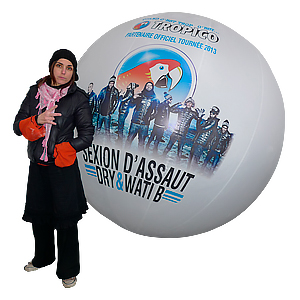 ballon de foule section d'assaut