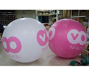 ballon publicitaire voo