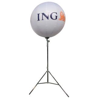 ballon publicitaire ING